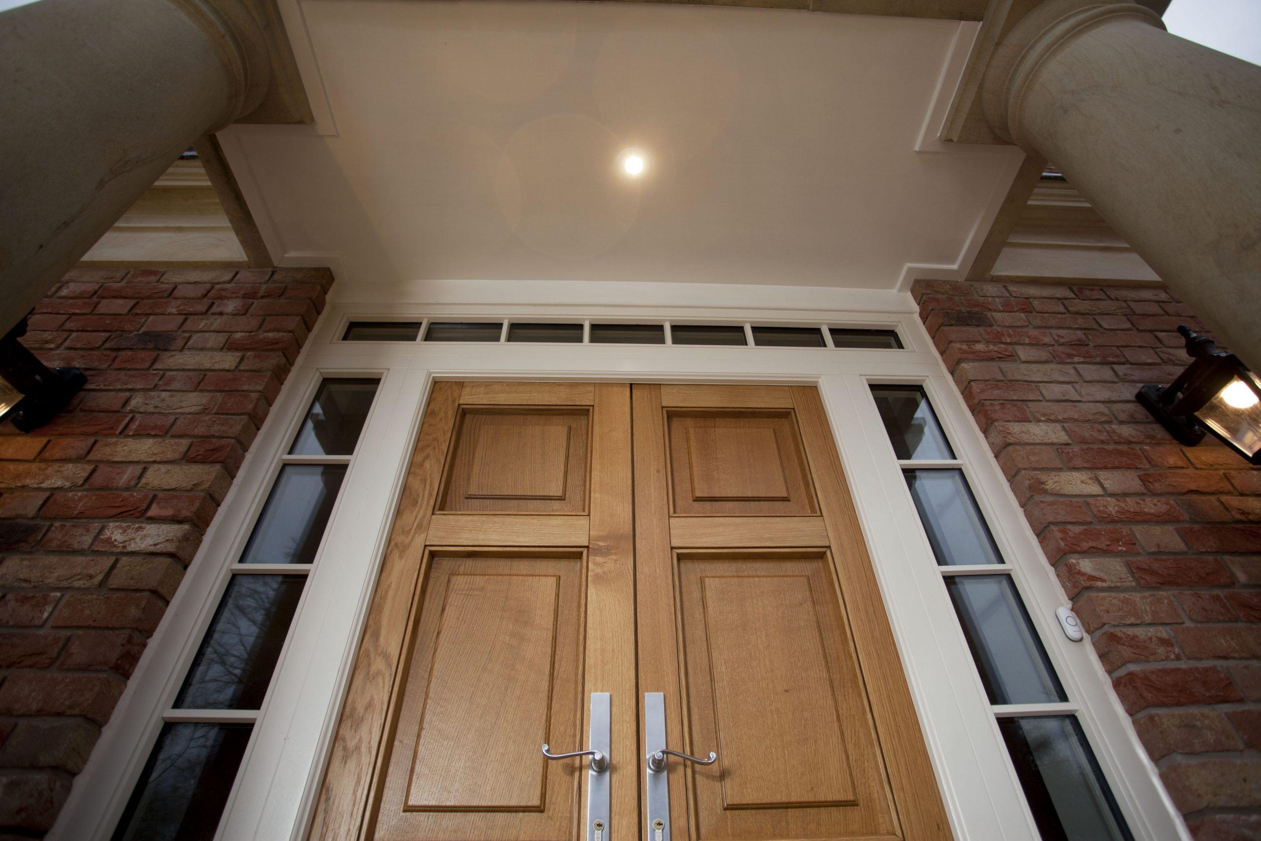 front composite door